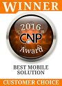 2016 cnp awards best mobile solution customer
